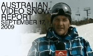 Australian Snow Report – September 17, 2009