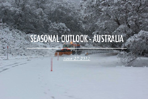 SEASON OUTLOOK 2013 – Australia – July Update