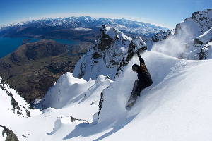 14 August, 2010 – Sunshine in The Remarkables