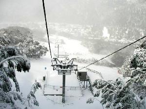 THREDBO – Storm Reflection, 50cm of Snow