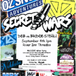 Secret Wars Party – Thredbo Sept 4