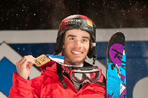 WINTER X EUROPE Kevin Rolland Wins Ski Superpipe