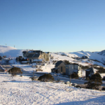 Early August – Fresh Snow and Blue Skies at Hotham