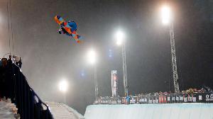 WINTER X EUROPE Clark wins Snowboard Superpipe