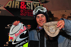 Sebastien Toutant Wins 6star Oakley Shaun White Air & Style In Beijing, China