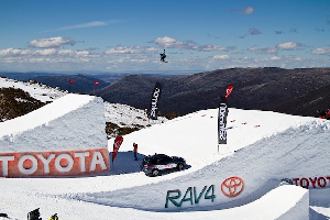 World's Best Freeskiers Fire Up All Engines on Day Three of the Toyota One Hit Wonder