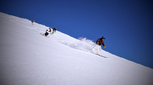 Backcountry with Steve Lee in Falls Creek