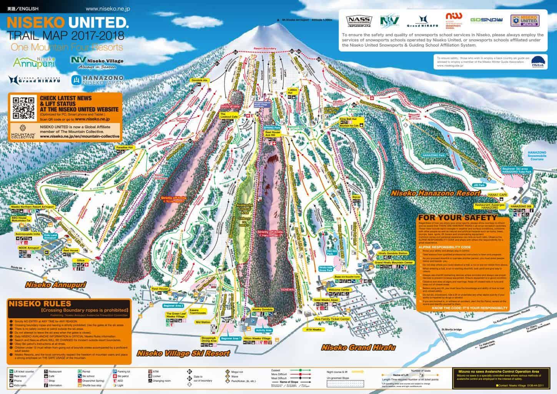 Niseko map