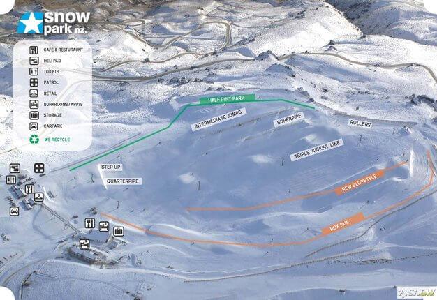 Snow Park Trailmap