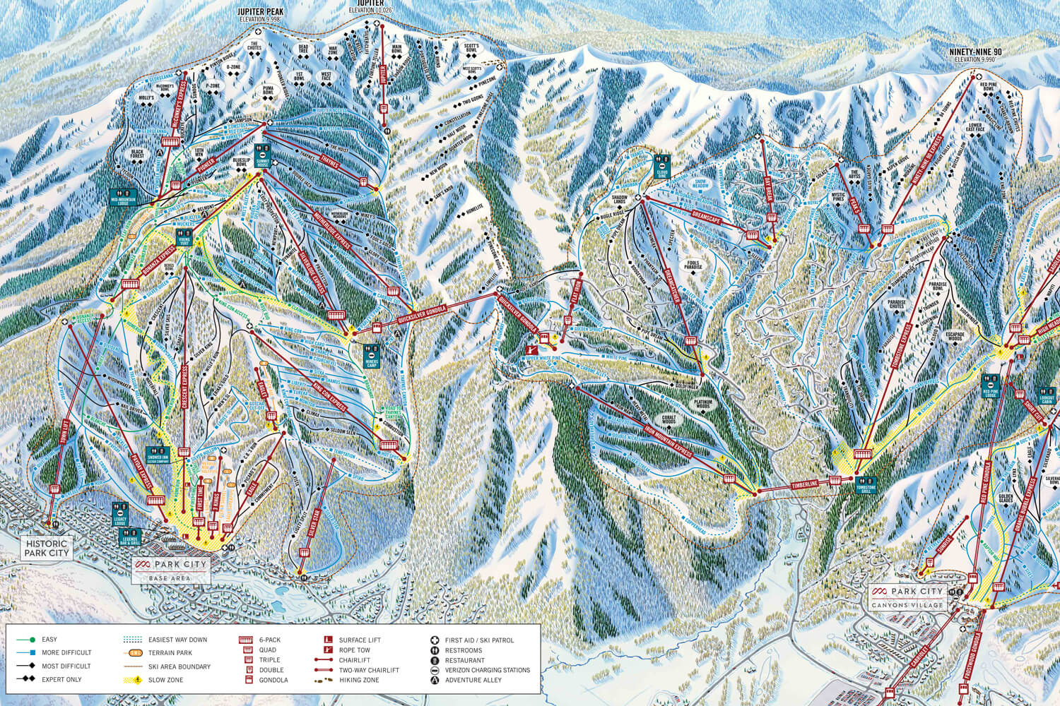 Park City Trailmap