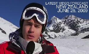 NZ Video Snow Report – June 25, 2009