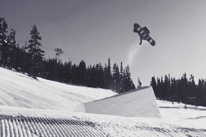 Swedish Team Riders Måns Hedberg and Ludvig Billtoft Throwing Down in Whistler