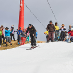 Skiing Mt Buller in March