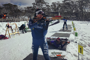 Five minutes with Australian Biathlete Jill Colebourn – Interview