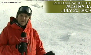 Australian Snow Report – July 20, 2009
