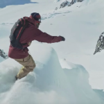 Watch Travis Rice and Eric Jackson Drop Into a Huge Spine in Alaska – Video