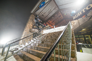 Sam 'Reddog' Neumann wins the 11th Annual Burton Cattleman's Rail Jam – Video and Recap
