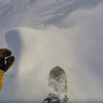 Watch Ralph Backstrom Shred the Steepest AK Line You've Ever Seen, On a Splitboard – Video