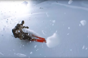 Skier Attaches Fishing Line to His iPhone and Films an Edit, The Result is Incredible – Video