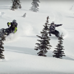 Travis Rice vs. Snowmobile, Filmed by Brainfarm – Video