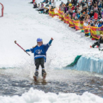 Wet and Wild at the Inaugural Thredbo Pond Skim Championship – Video