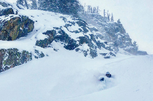 Jackson Hole – Santa Brings Some Christmas Pow