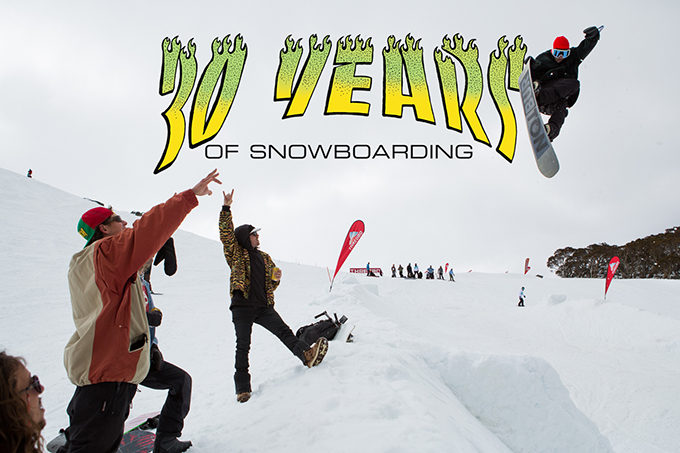 60e8fc08b82 Australian Snowboarding Turns 30 at Thredbo - Weekend Recap ...
