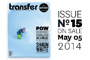 Transfer – Issue 15 – Preview 5th of May 2014