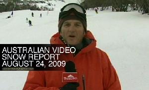 Australian Snow Report – August 24, 2009