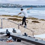 PHOTOS – Snowboarding On Sydney's Beaches