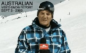 Australian Video Snow Report – September 3, 2009