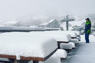 Antarctic Air Brings a Taste of Winter
