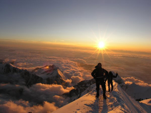 Climbing Mount Blanc – Part 2 The Summit