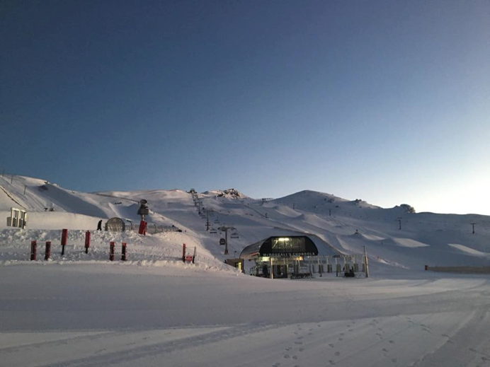 Cardrona ripe and ready to be gobbled up. Opening day is 16th June and there is already 50-90cm of snow lying on the ground. Go fill your boots. Source: Cardrona