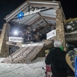 The Burton Cattlemans Rail Jam, no win its 13th year and one of the biggest event on the snowboard event calendar. Photo: Matt Hull/Burton