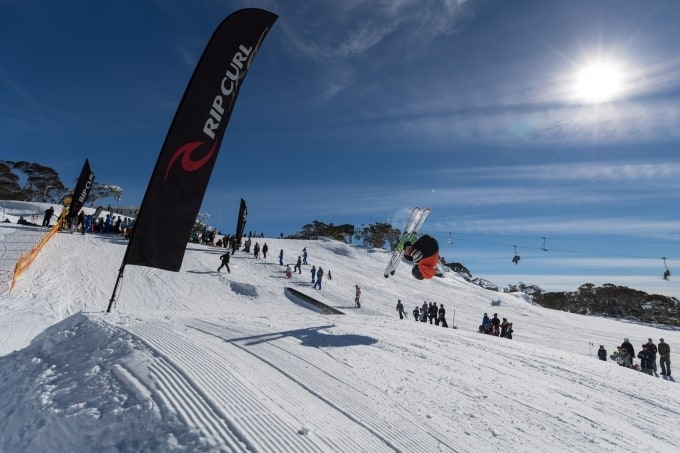 Perisher's Yabby Flat park, the perfect venue