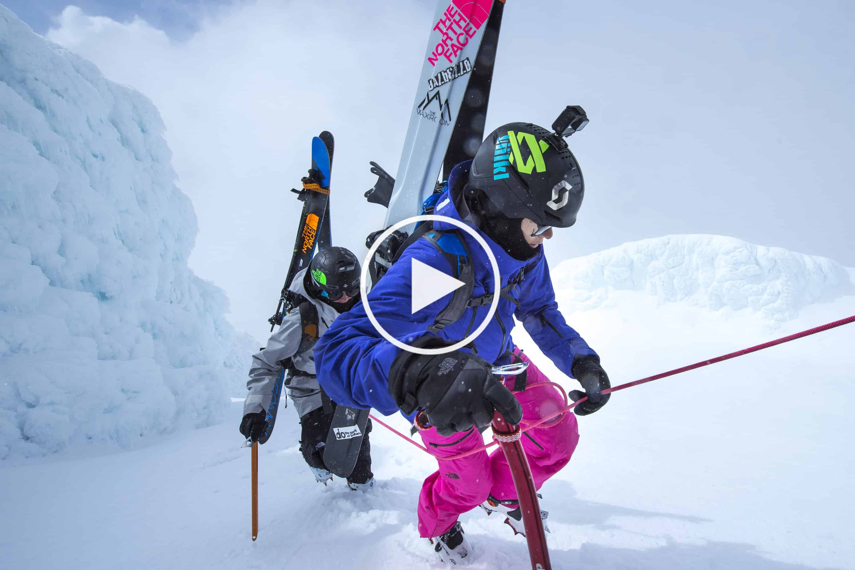 All-Female Ski Expedition To New Zealand's Mt Taranaki – Video