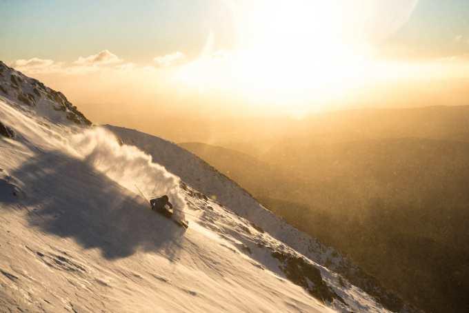 Anton Grimus, Australian ski cross team member and Buller local wlil be competing at Uni snow. Photo: Tony Harrington