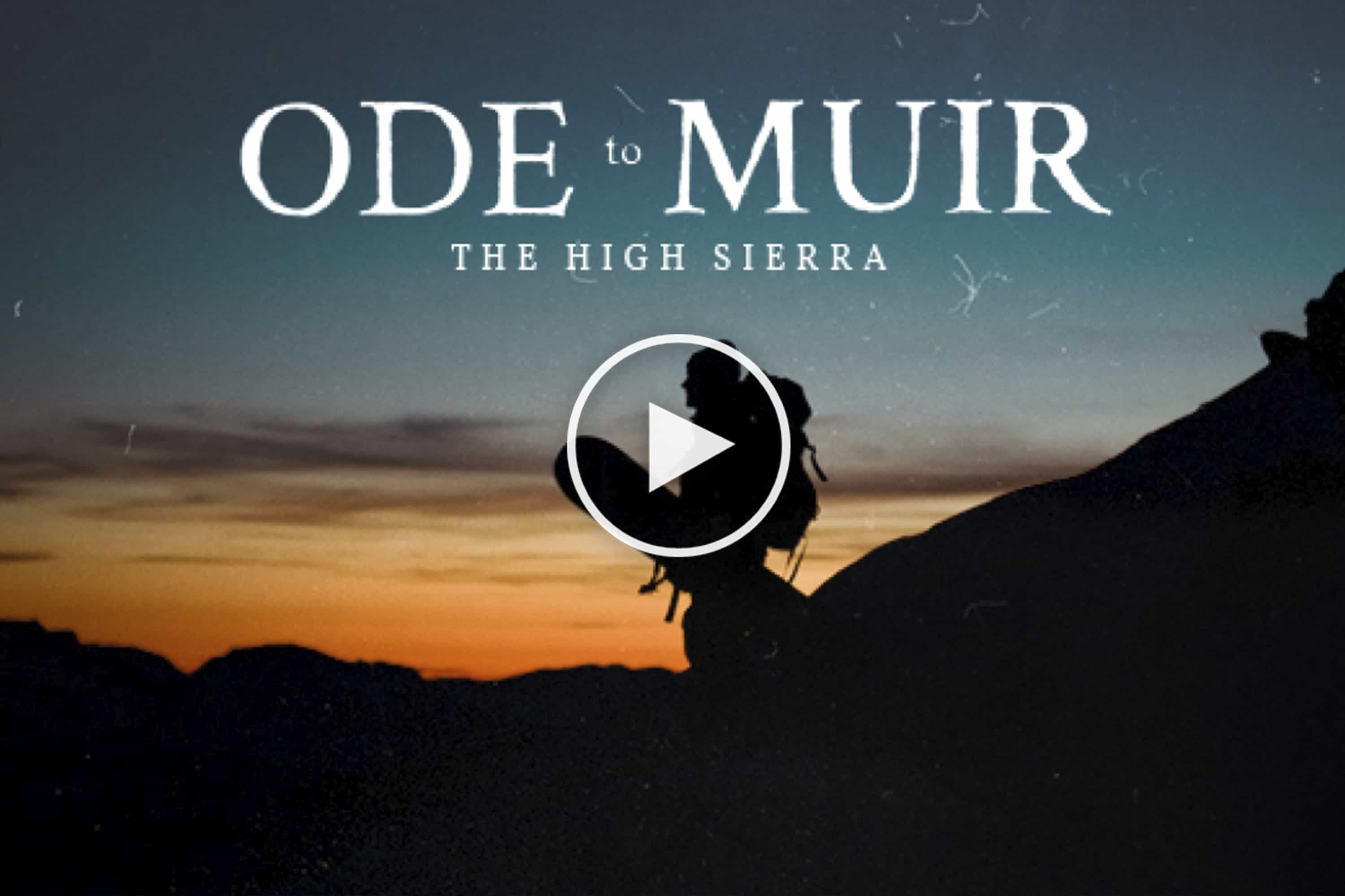 New Film From Teton Gravity Starring Jeremy Jones: Ode To Muir – Video Trailer