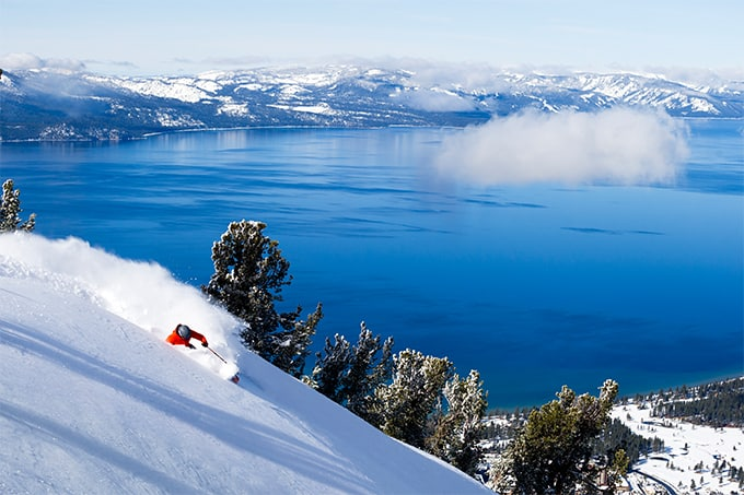 This has to be one of the best views you'll ever see. Photo: Heavenly Mountain Resort