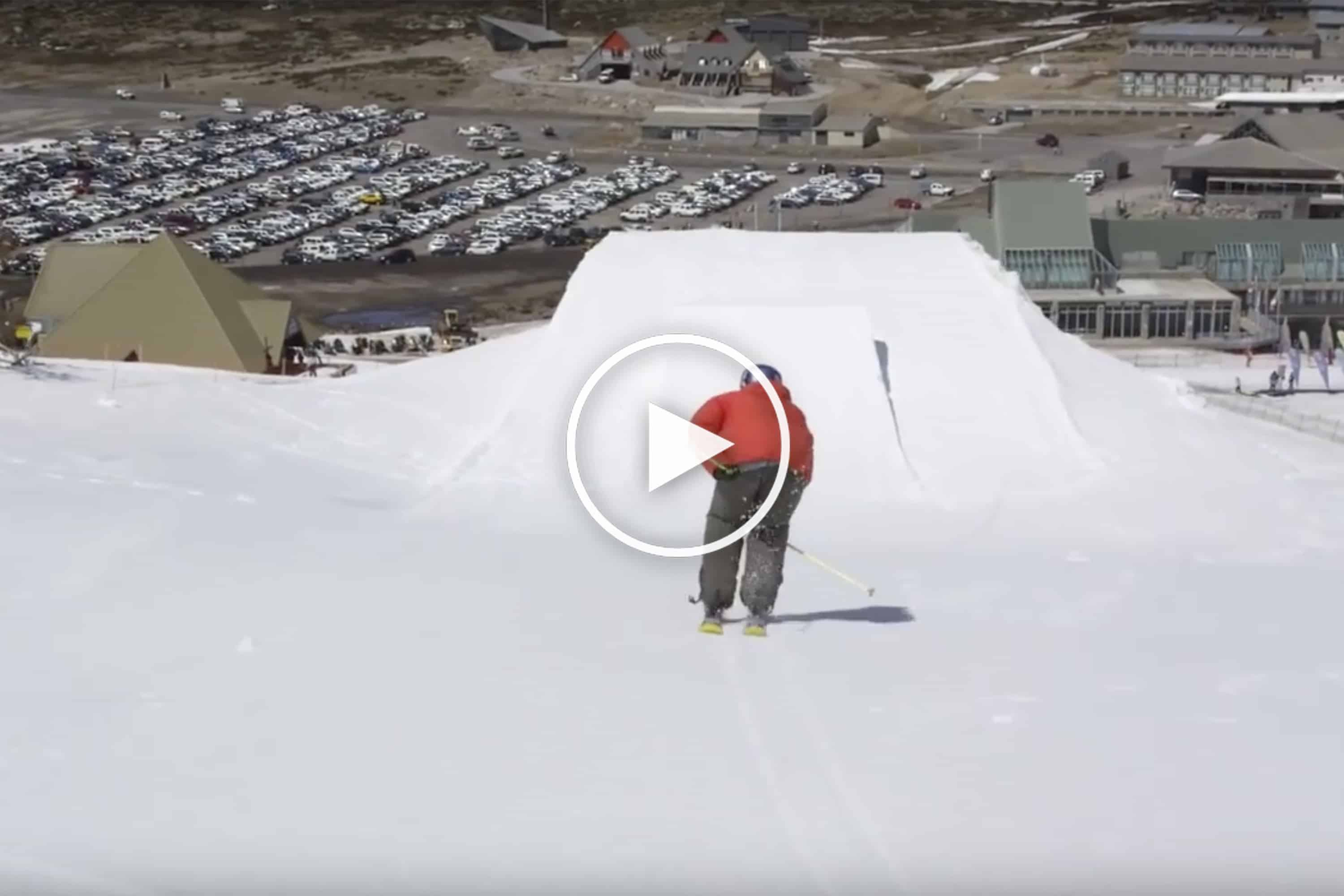 Perisher Park Skied Backwards And We Don't Mean 'Switch' – Video