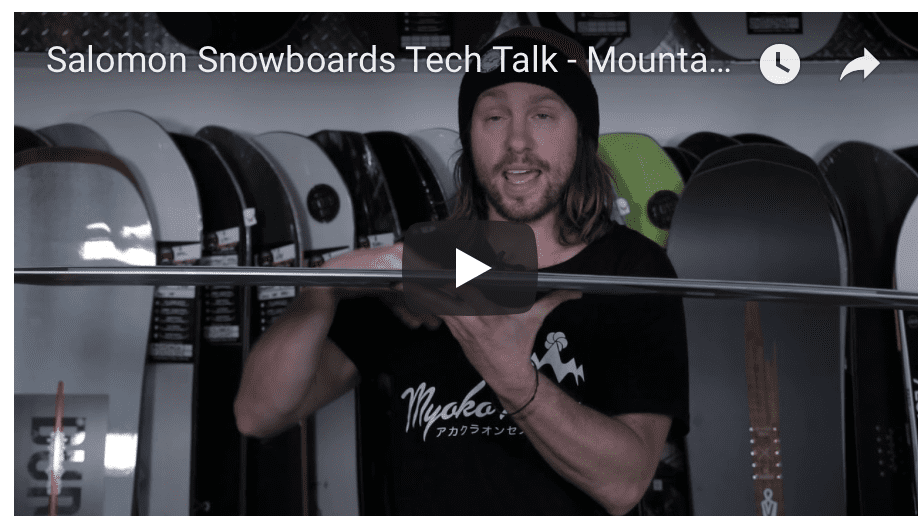 Gear Guide – Salomon Snowboards Video Review