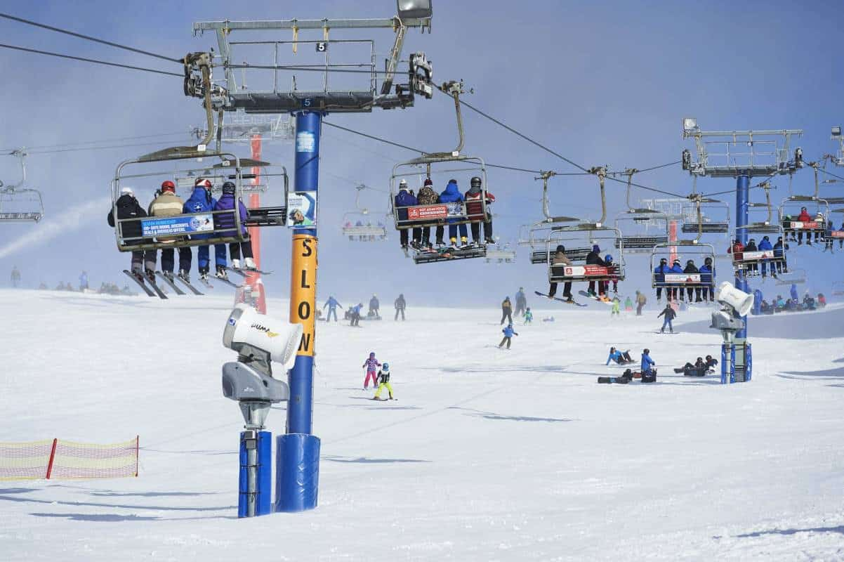 Blue Bullet Chairlift Auction At Mt Buller