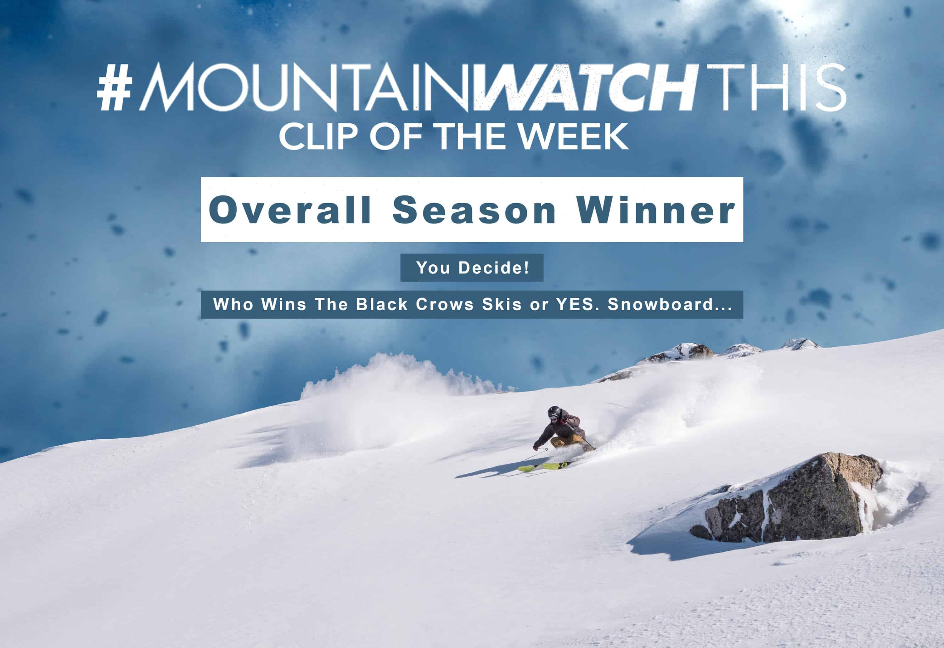 #Mountainwatchthis Clip Of The Week Instagram Comp – Vote For The Season Winner Here!