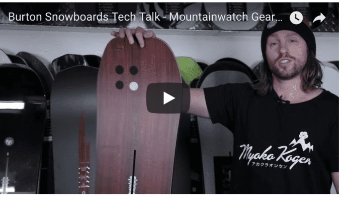 Gear Guide – Burton Snowboards Video Review