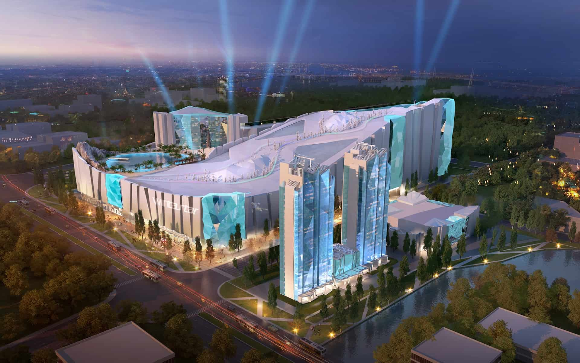 China Building World's Largest Indoor Ski Resort – Gondola's And All…