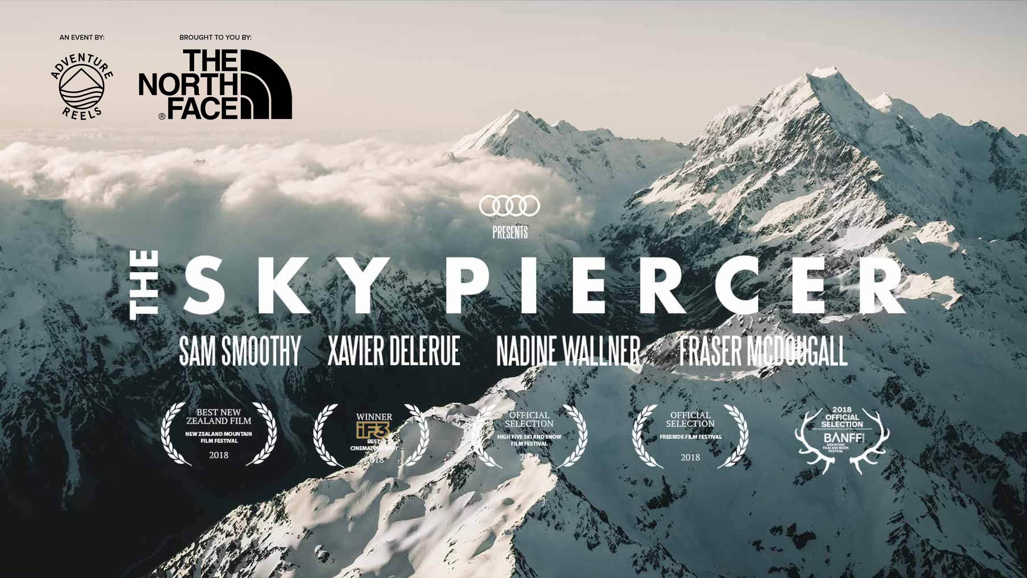 The Sky Piercer – award winning film about skiing NZ's Mount Cook screening in Sydney and Melbourne next week.