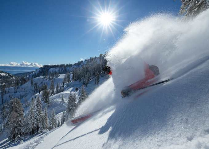 Last Sunday in Squaw Valley Alpine Meadows was one for the books. Photo: