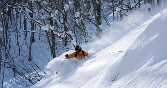 Skiing deep powder is close to as much fun you'll ever have on skis, as long as you have the right equipment and don't have to work too hard!