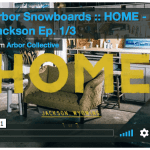 Arbor Snowboards presents Home – Brian Iguchi and Mark Carter In Jackson – Videos